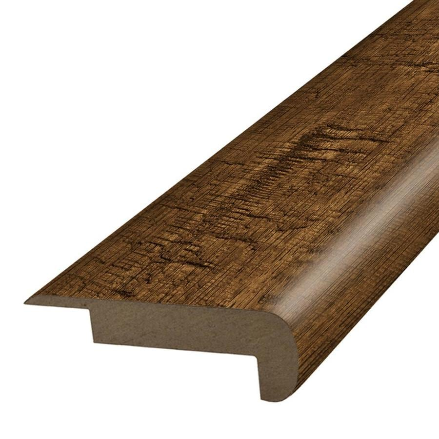 SimpleSolutions 2.37-in x 78.7-in Crest Ridge Hickory Stair Nose Floor Moulding