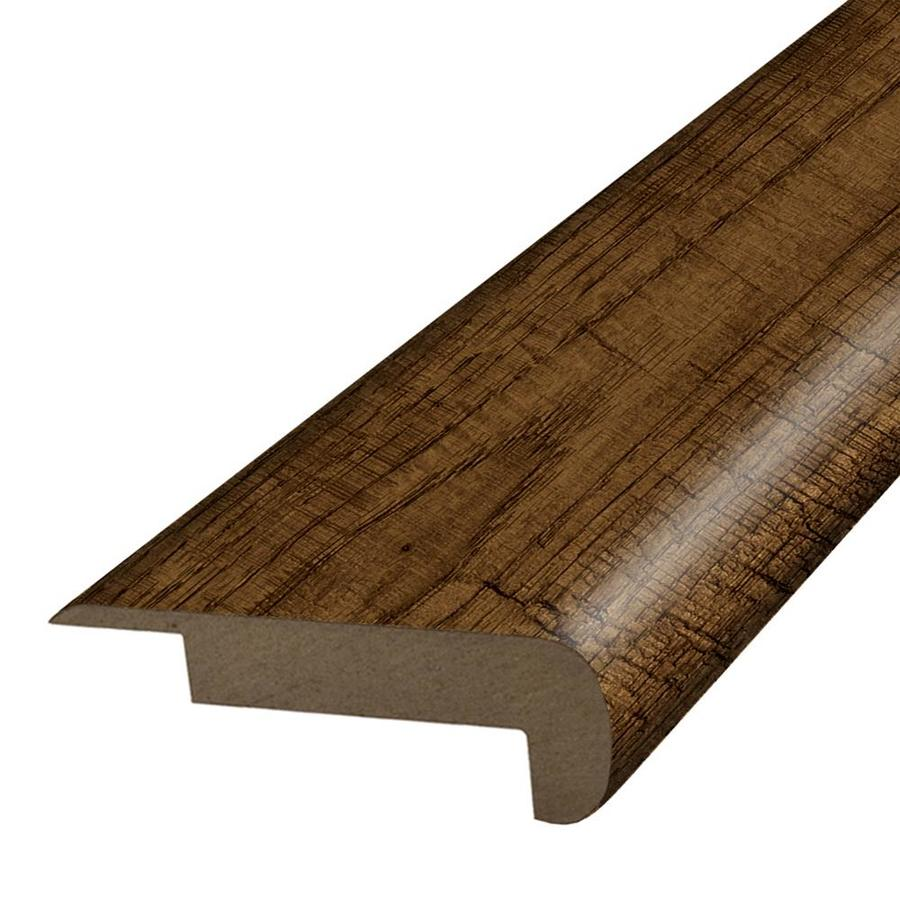 SimpleSolutions 2.37-in x 78.7-in Brookdale Hickory Stair Nose Floor Moulding