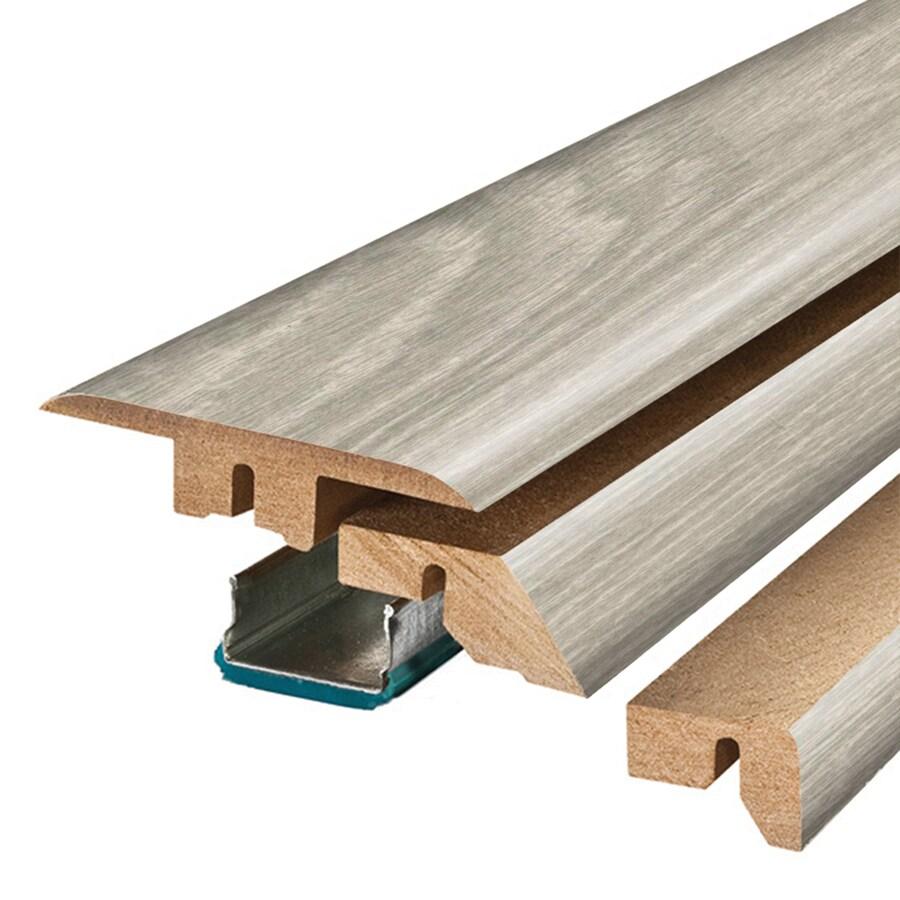SimpleSolutions 2.37-in x 78.7-in Salt Mill Oak 4-n-1 Floor Moulding