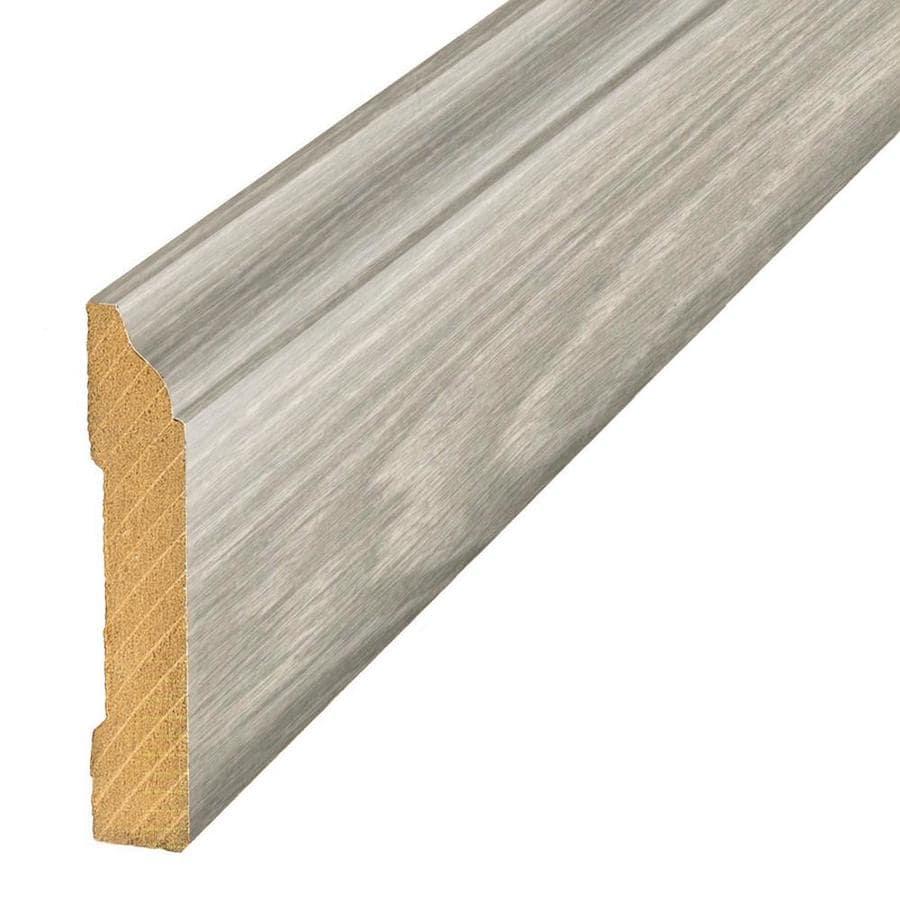 SimpleSolutions 3.3-in x 94.5-in Salt Mill Oak Base Floor Moulding