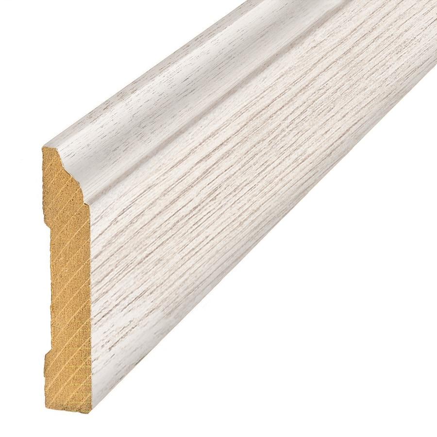 SimpleSolutions 3.3-in x 94.5-in Atlantic Oak Base Floor Moulding