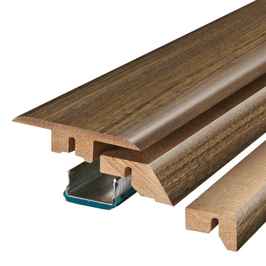 SimpleSolutions 2.37-in x 78.7-in Calico Oak 4-n-1 Floor Moulding