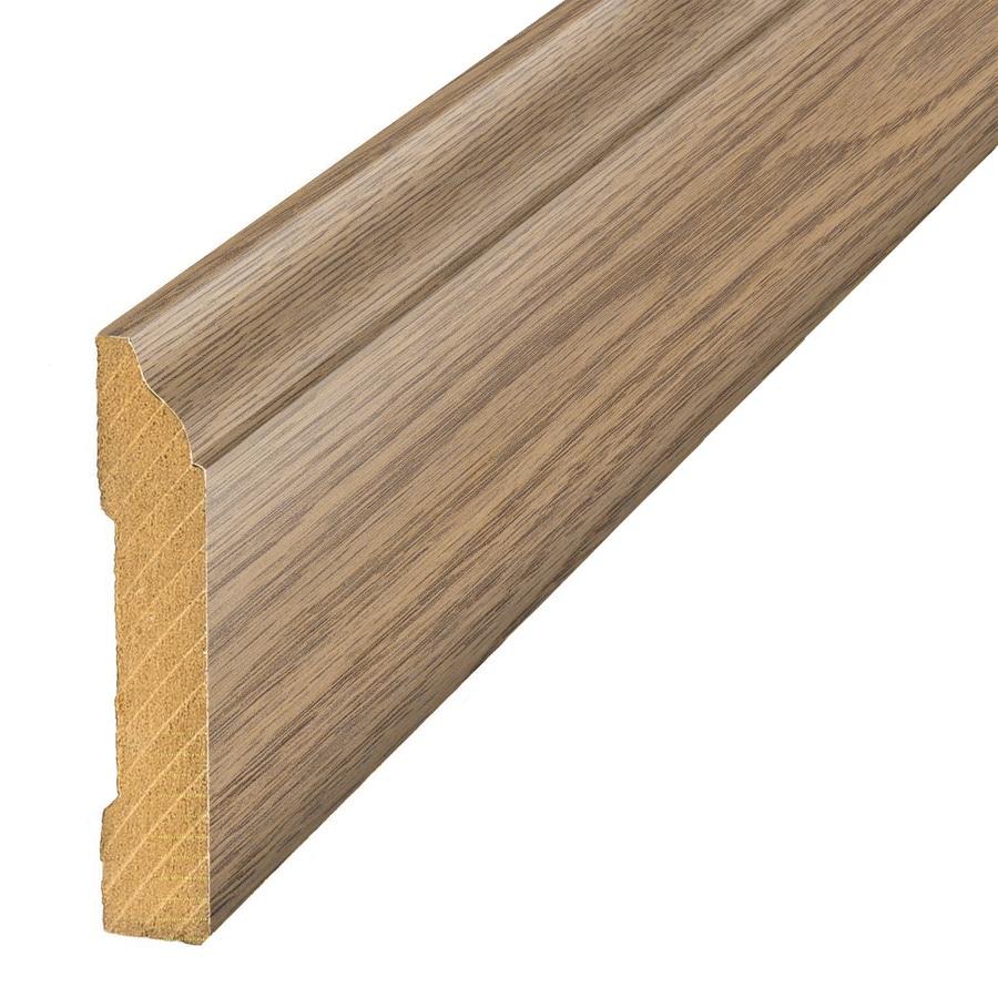 SimpleSolutions 3.3-in x 94.5-in Harvest Pine Base Floor Moulding