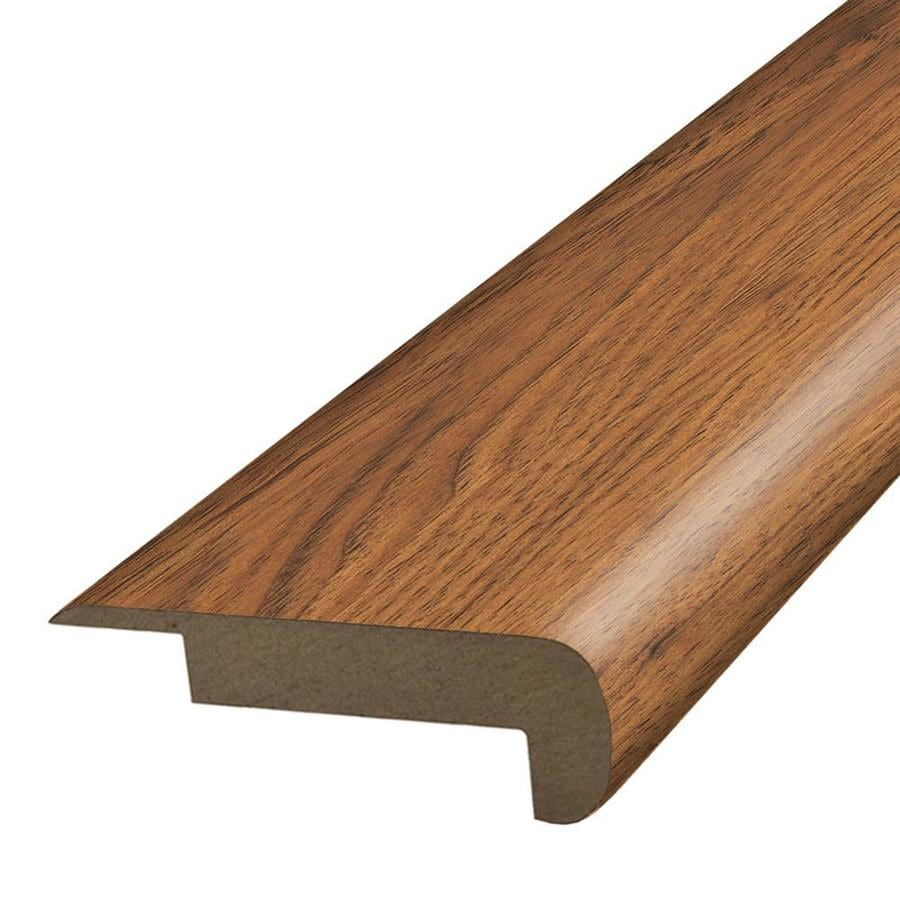 SimpleSolutions 2.37-in x 78.7-in Hillcrest Hickory Stair Nose
