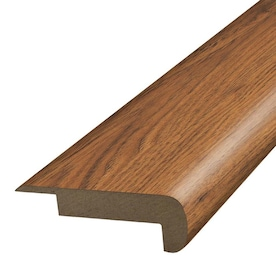 Flexco Solid Wood Stair Nose 2 75 In X 78 In Heritage Prefinished Hickory Stair Nosing In The Stair Nosing Department At Lowes Com