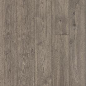 Pergo TimberCraft  WetProtect Waterproof Anchor Grey Oak Wood Planks Laminate Sample Shop Flooring Samples At Lowes Com