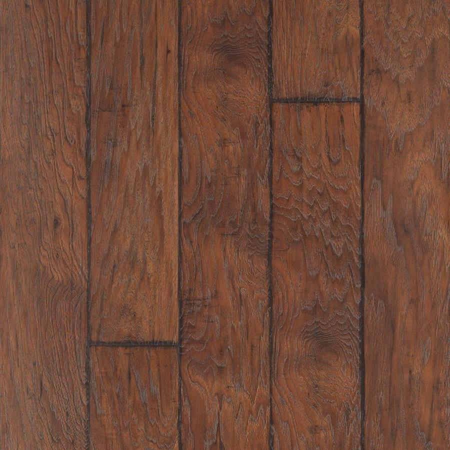 Allen Roth Barrel Hickory Wood Planks Laminate Sample At