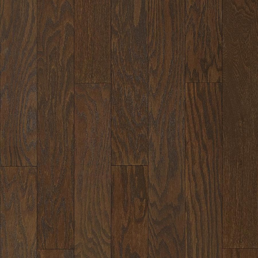 Style selections 5 23 in coffee oak engineered hardwood flooring 20 62 sq ft