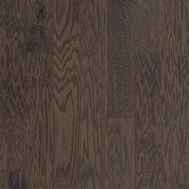 Style Selections 523 In Grey Pewter Oak Engineered Hardwood Flooring 2062 Sq Ft