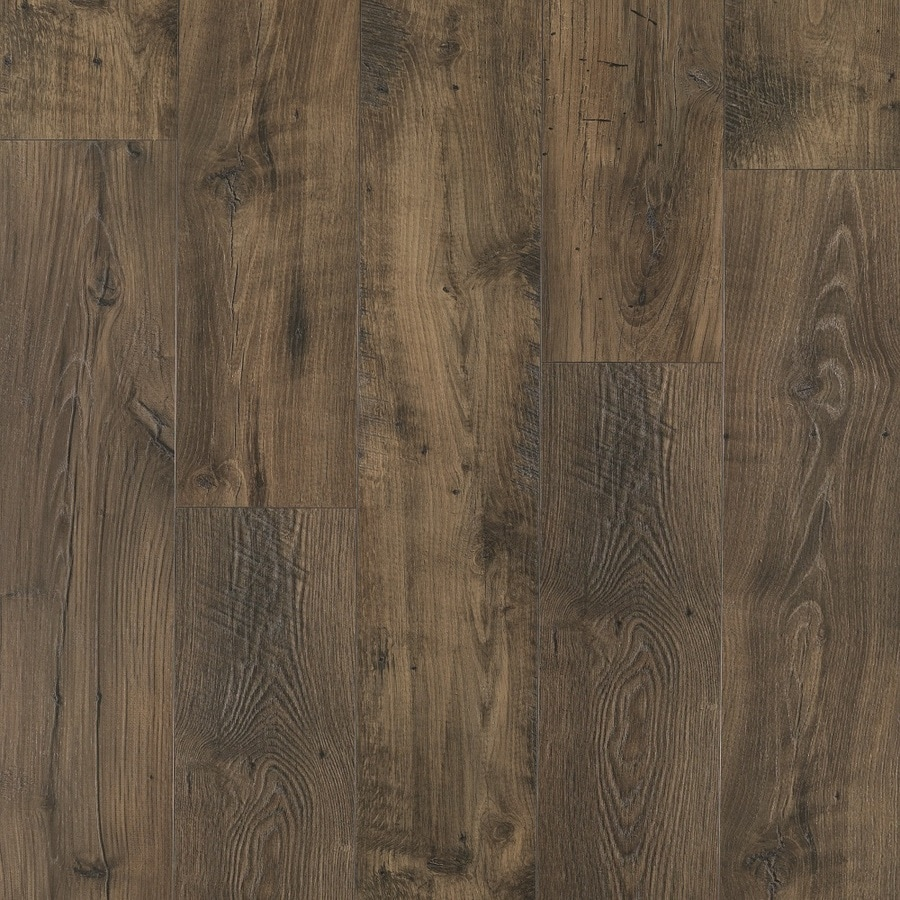 Pergo Portfolio Wetprotect Waterproof Rustic Smoked Chestnut 7 48 In W X 54 33 L Embossed Wood Plank Laminate Flooring The Department At Lowes