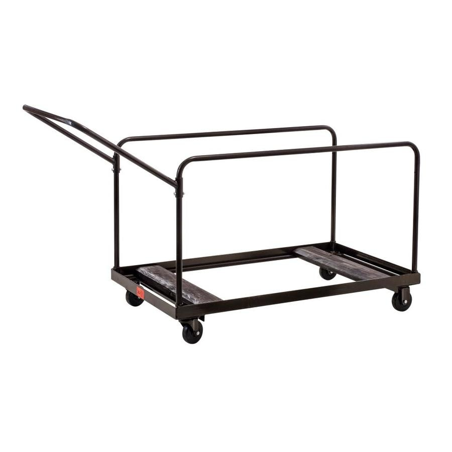 National Public Seating 700-lb Brown Steel Dolly