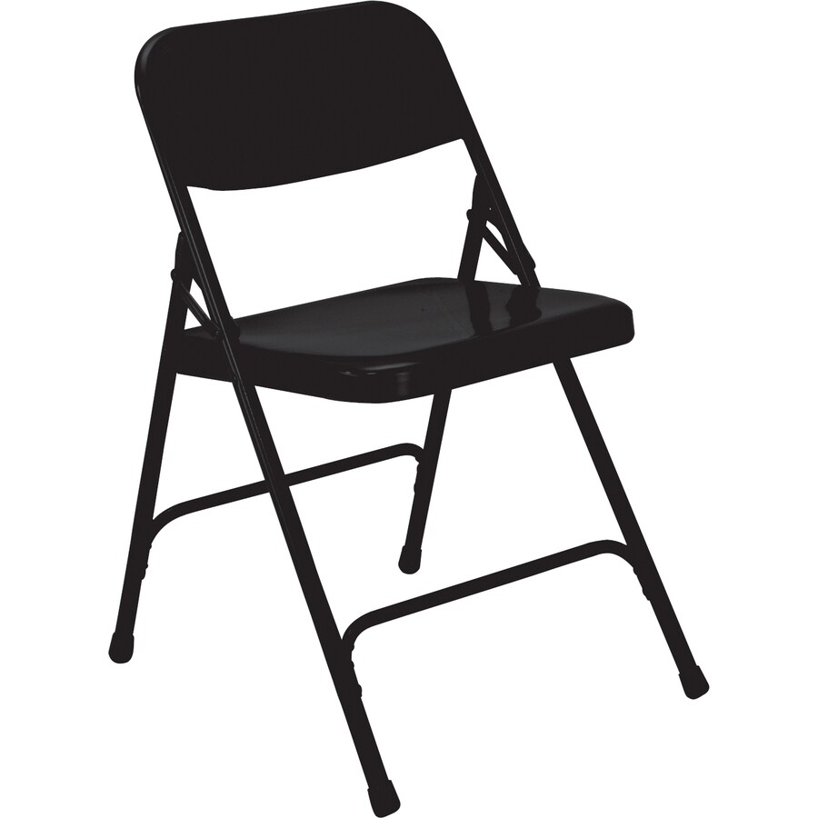 National Public Seating 24-Pack Indoor Only Steel Standard Folding Chairs