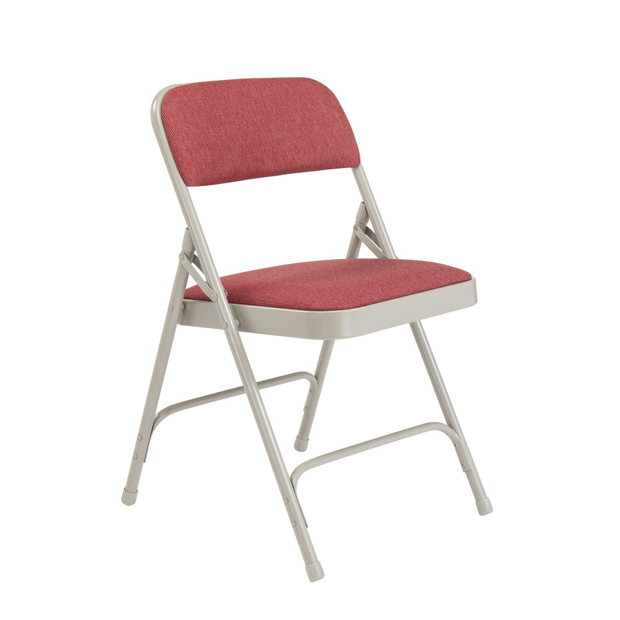 National Public Seating 4-Pack Indoor Steel Banquet Folding Chairs