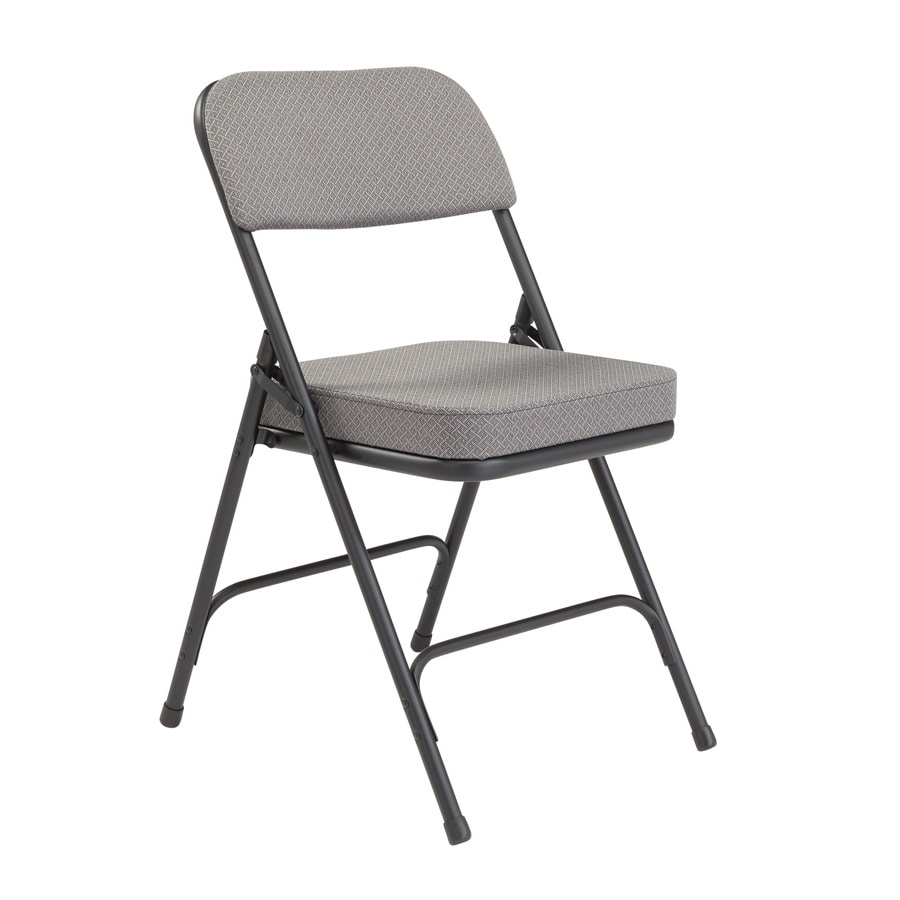 National Public Seating 52-Pack Indoor Only Steel Charcoal Grey Banquet Folding Chair