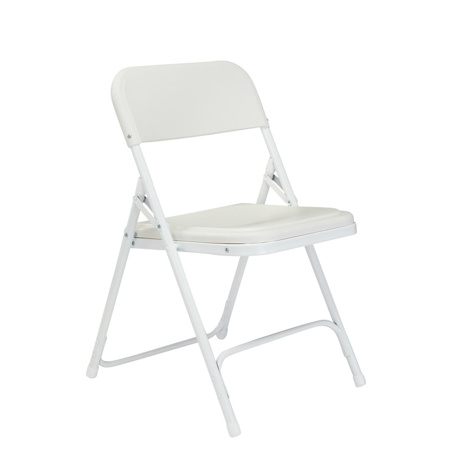 National Public Seating 4-Pack Indoor/Outdoor Steel Banquet Folding Chairs