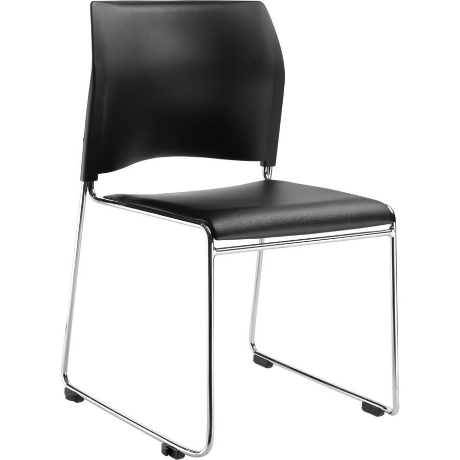 National Public Seating Chrome Frame Stackable Reception Chair