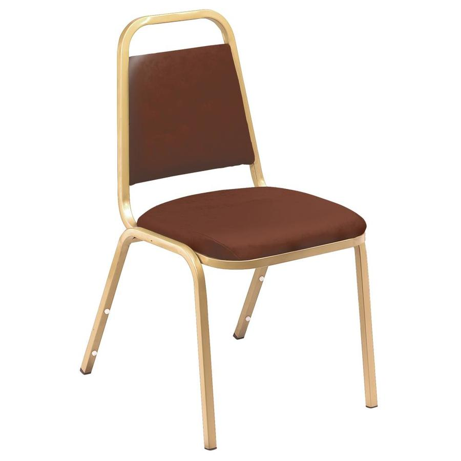 National Public Seating French Beige Stackable Side Chair