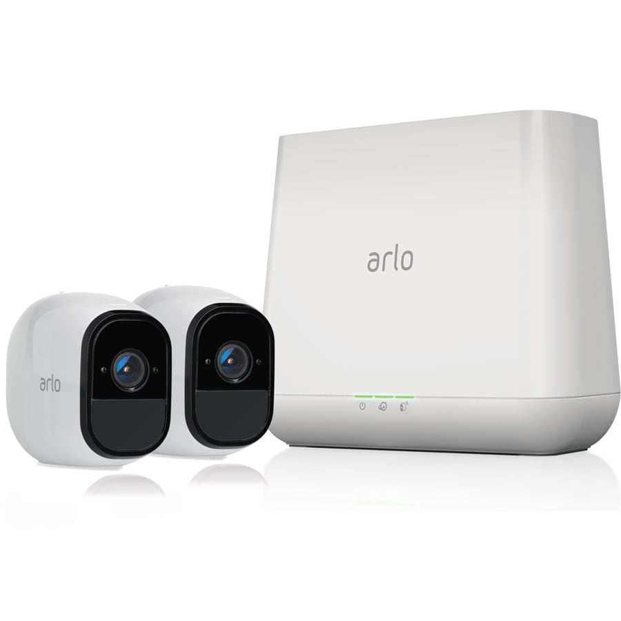 Shop Arlo Pro Digital Wireless Outdoor 2 Security Camera Kit With Surveillance Wiring Night Vision