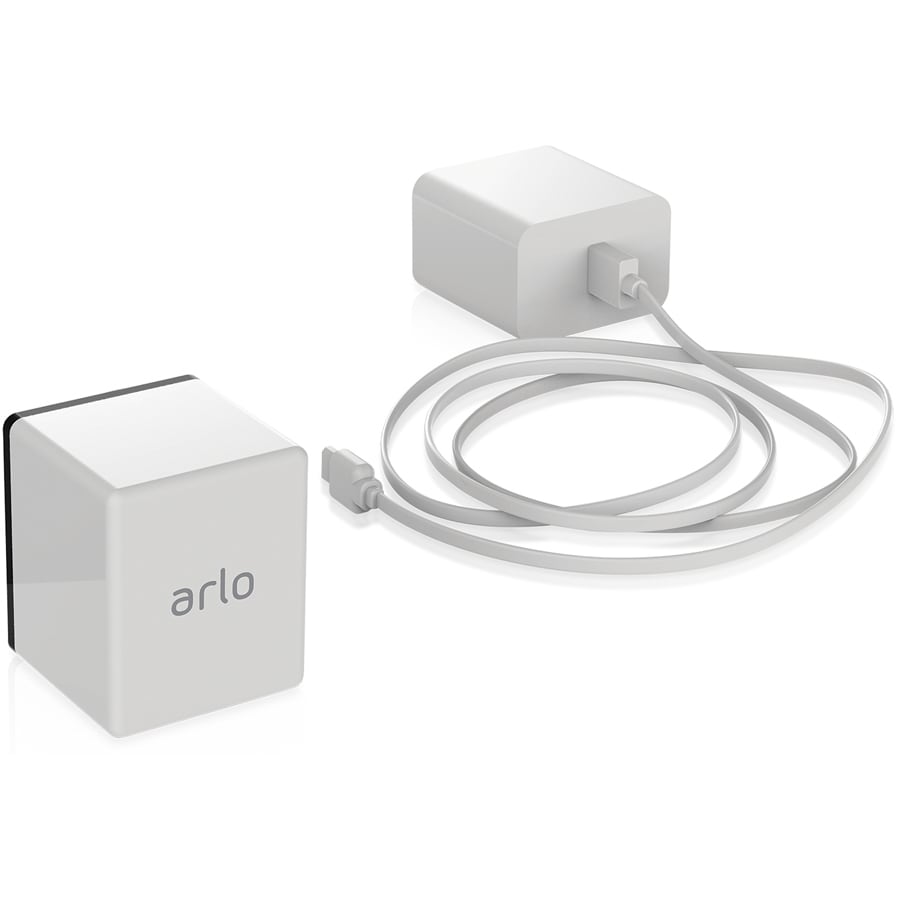 Arlo Pro Rechargeable Battery White 2440-mAh Lithium Ion (Li-ion) Security Camera Battery Charger