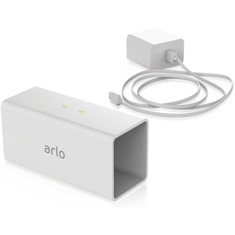 Arlo Pro Charging Station White 2440-mAh Lithium Ion (Li-ion) Security Camera Battery Charger