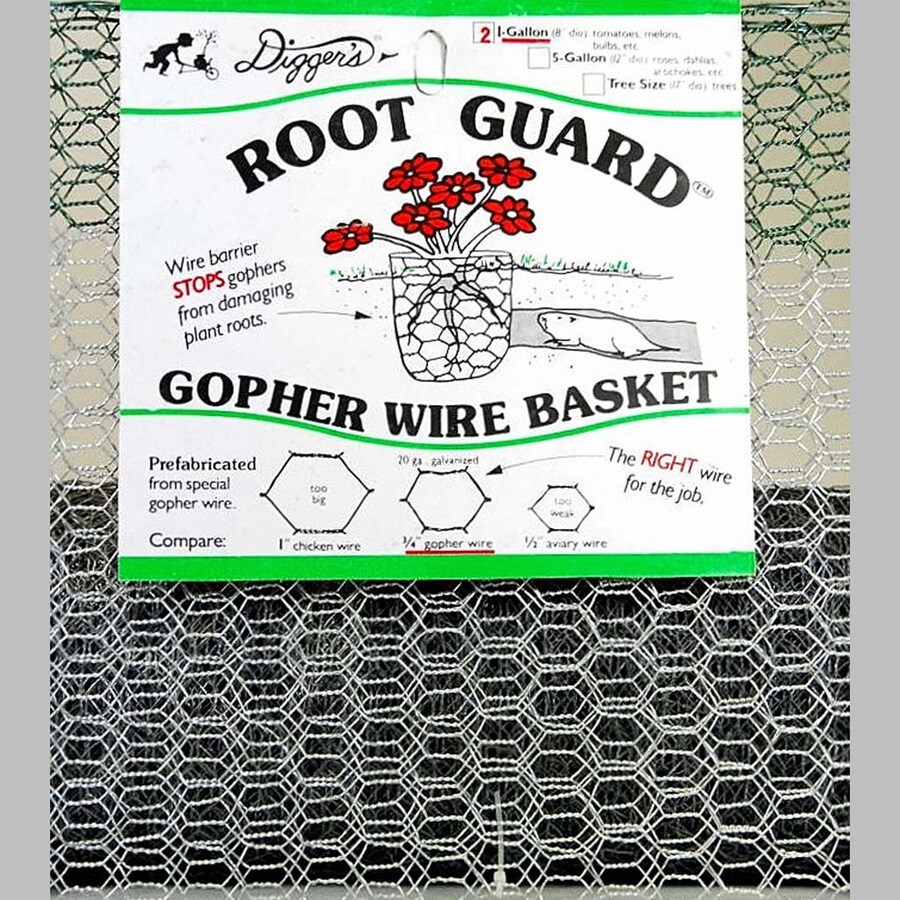 Root Guard Root Guard Gopher Wire Basket Animal Repellent