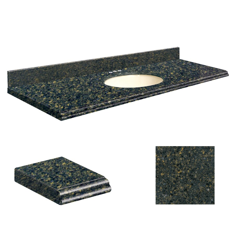 Transolid Manchester Square Quartz Undermount Single Sink Bathroom Vanity Top (Common: 61-in x 22-in; Actual: 61-in x 22.25-in)