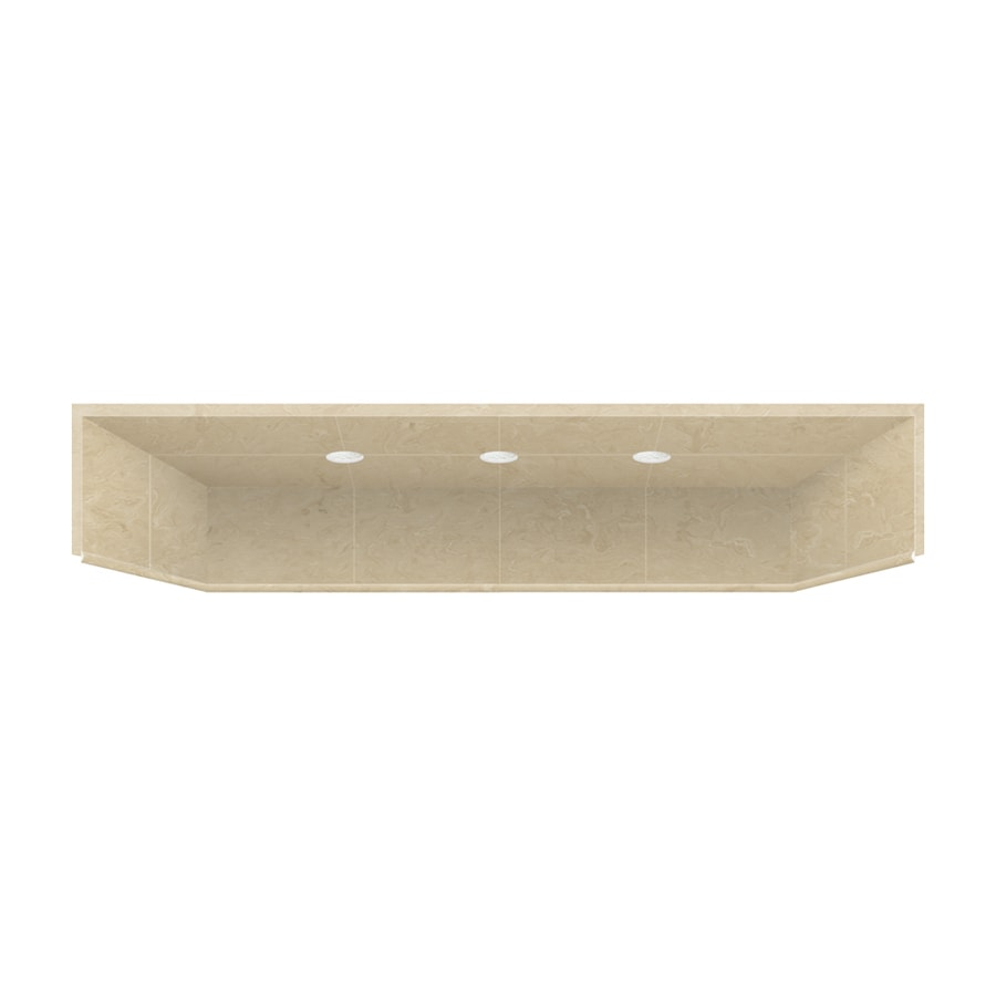 Style Selections 32-in x 60-in Shower Ceiling with LED Light Kit