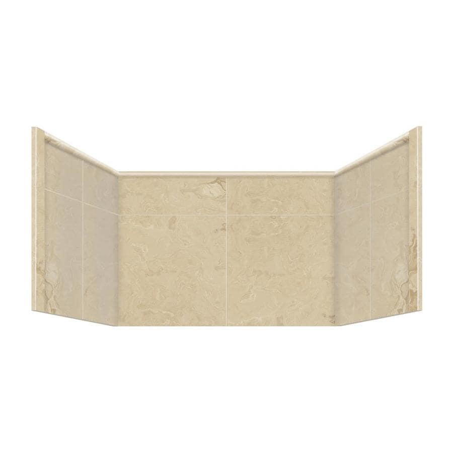 Style Selections Almond Sky Shower Wall Trim Piece