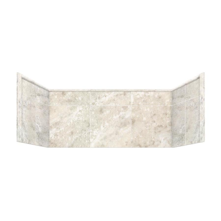 Style Selections Silver Mocha Shower Wall Trim Piece