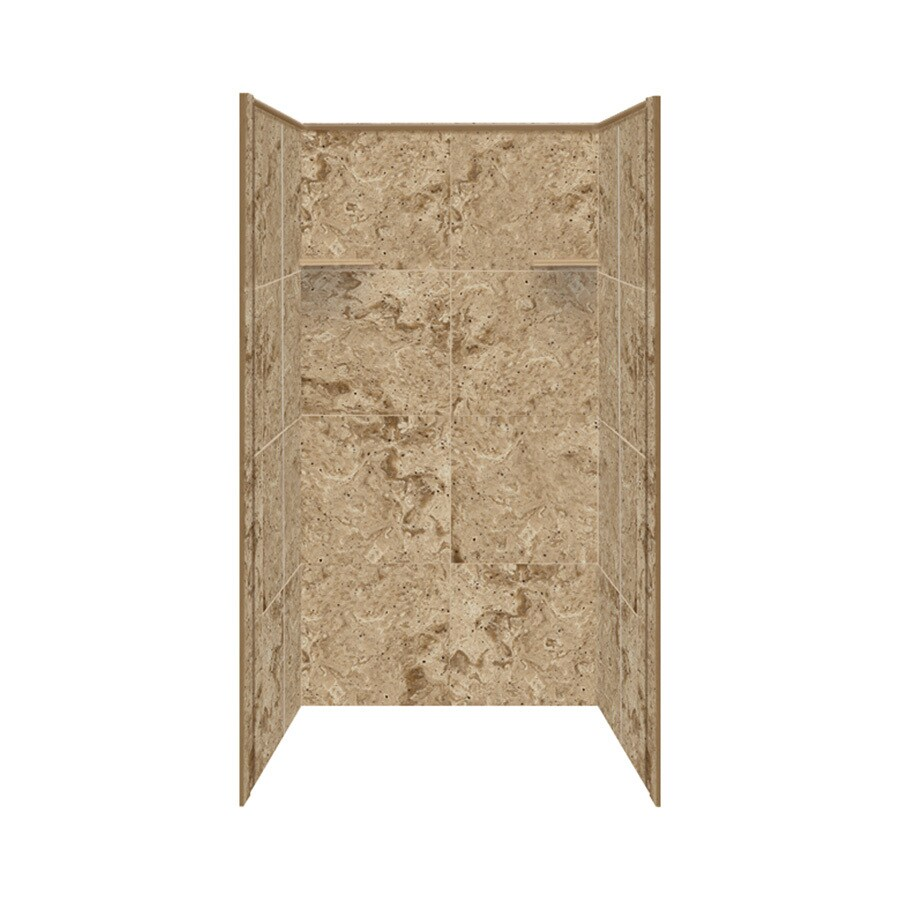Style Selections Sand Mountain Shower Wall Surround Side and Back Panels (Common: 36-in x 36-in; Actual: 72-in x 36-in x 36-in)