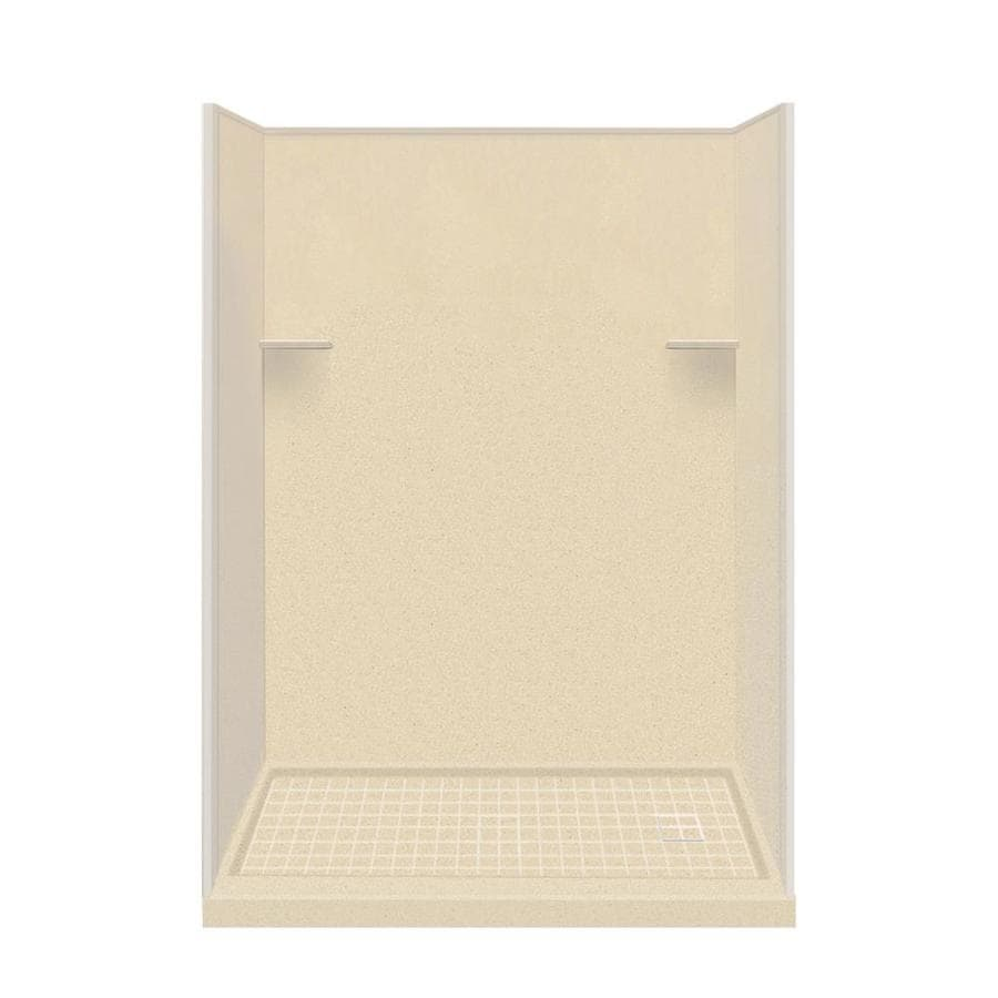 Style Selections Sea Shore 4-Piece Alcove Shower Kit (Common: 30-in x 60-in; Actual: 30-in x 60-in)