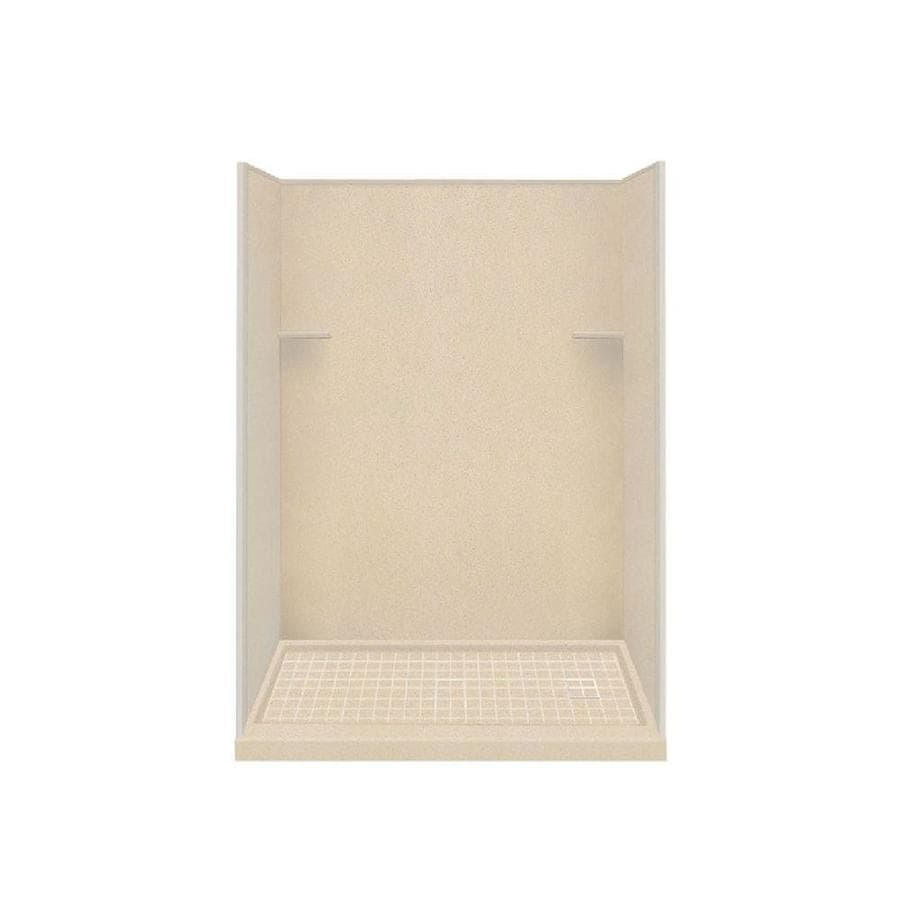 Style Selections Matrix Khaki 4-Piece Alcove Shower Kit (Common: 30-in x 60-in; Actual: 30-in x 60-in)