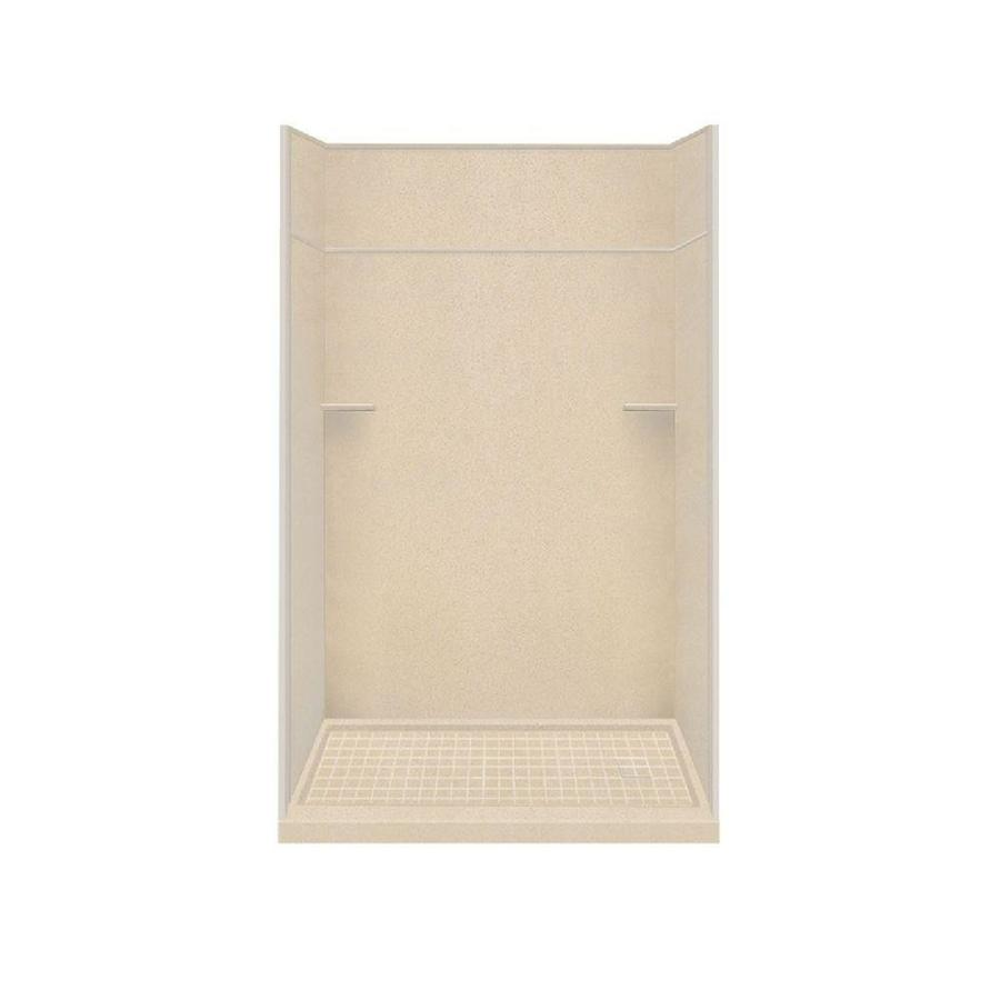 Style Selections Matrix Khaki 5-Piece Alcove Shower Kit (Common: 30-in x 60-in; Actual: 30-in x 60-in)