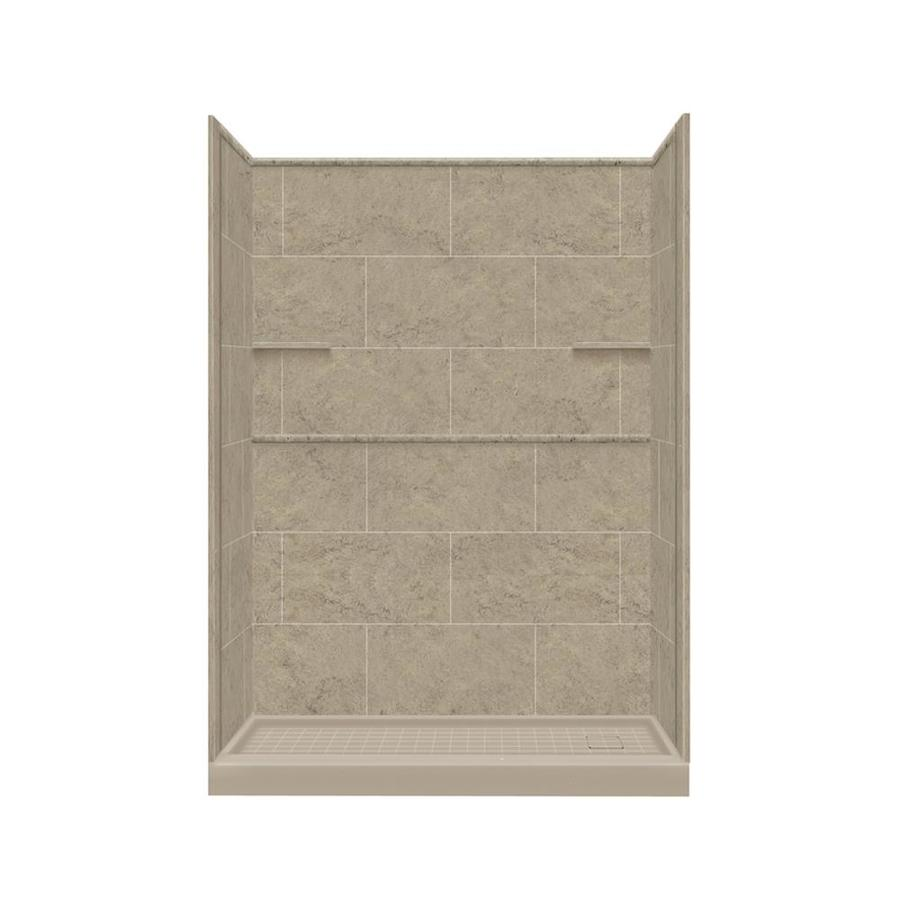 Shop Style Selections Sand Mountain 4 Piece Alcove Shower