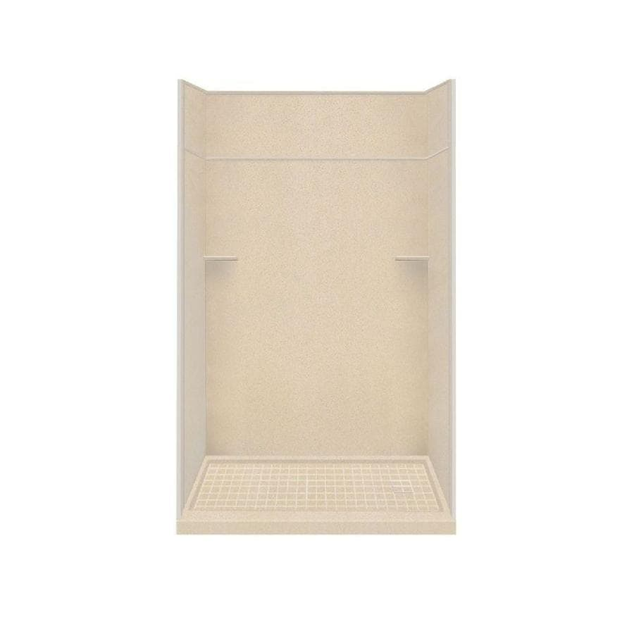 Style Selections Matrix Khaki 5-Piece Alcove Shower Kit (Common: 32-in x 60-in; Actual: 32-in x 60-in)