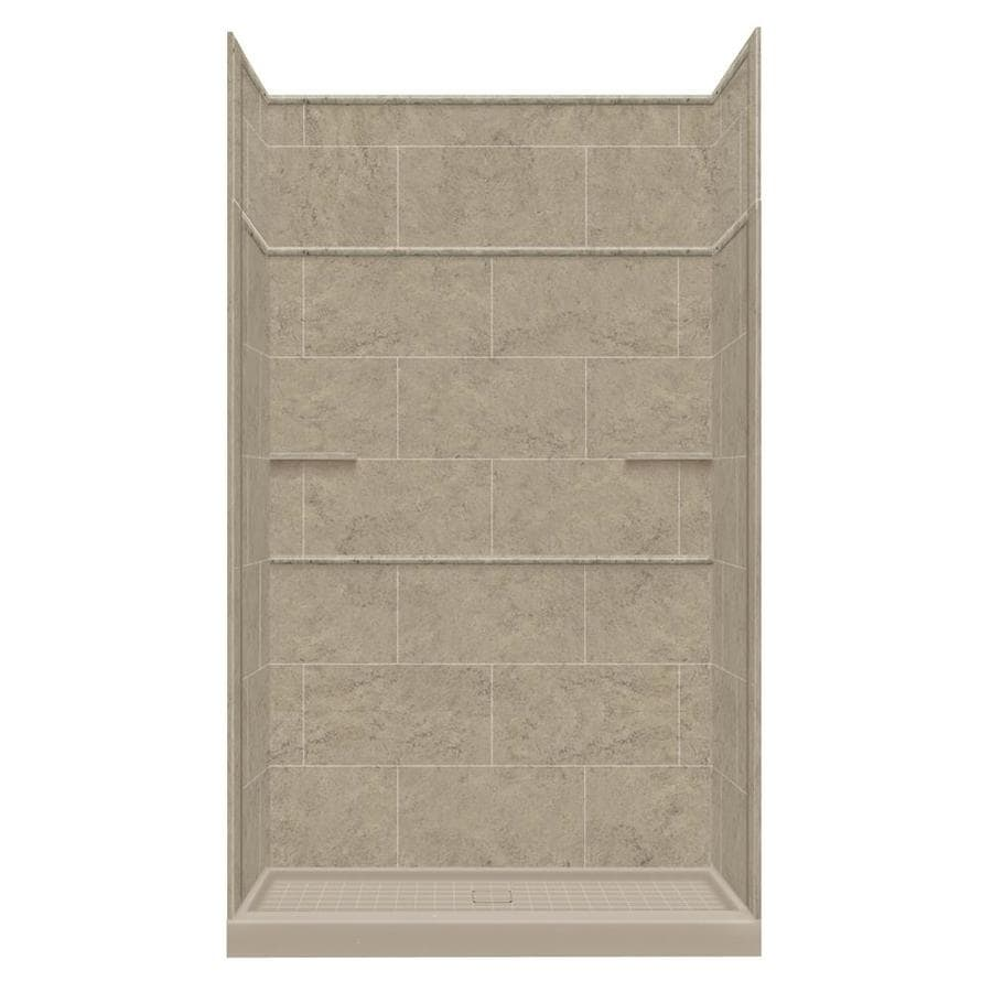 Style Selections Sand Mountain 5-Piece Alcove Shower Kit (Common: 36-in x 60-in; Actual: 36-in x 60-in)