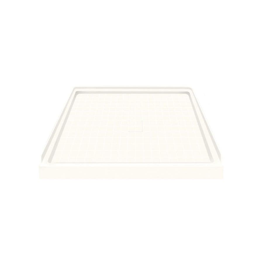 Style Selections White Solid Surface Shower Base (Common: 36-in W x 36-in L; Actual: 36-in W x 36-in L)