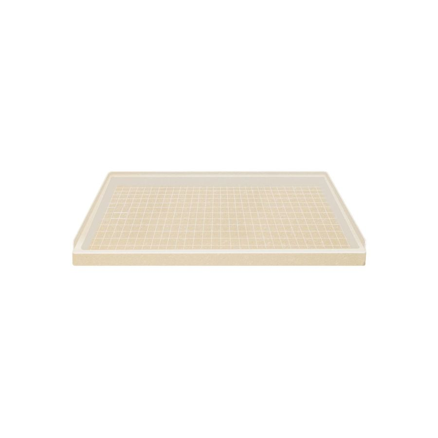 Style Selections Sea Shore Solid Surface Shower Base (Common: 32-in W x 60-in L; Actual: 32-in W x 60-in L)