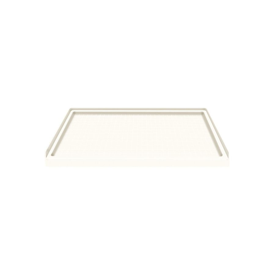 Style Selections White Solid Surface Shower Base (Common: 36-in W x 60-in L; Actual: 36-in W x 60-in L)