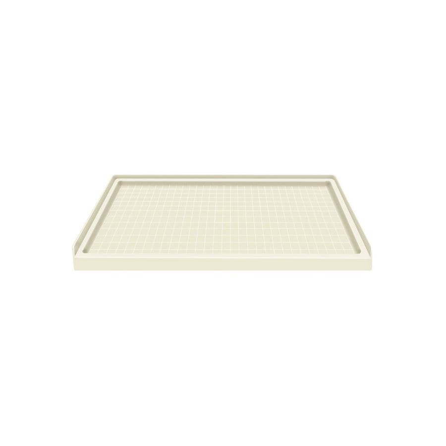 Style Selections Biscuit Solid Surface Shower Base (Common: 36-in W x 60-in L; Actual: 36-in W x 60-in L)