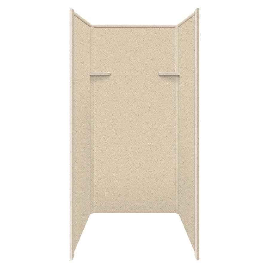 Style Selections Matrix Khaki Shower Wall Surround Side and Back Panels (Common: 36-in x 36-in; Actual: 72-in x 36-in x 36-in)
