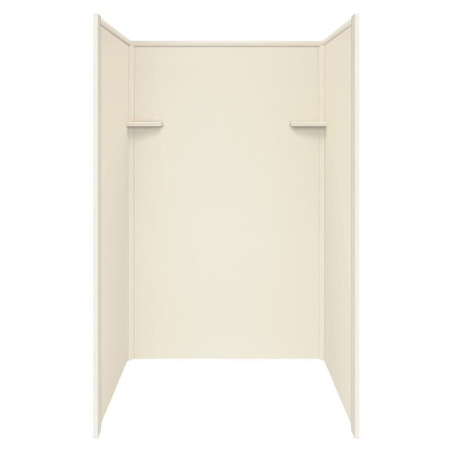 Style Selections Biscuit Shower Wall Surround Side and Back Wall Kit (Common: 36-in x 48-in; Actual: 72-in x 36-in x 48-in)