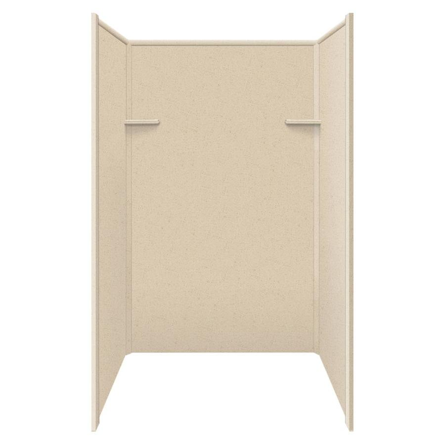 Style Selections Matrix Khaki Shower Wall Surround Side and Back Panels (Common: 36-in x 48-in; Actual: 72-in x 36-in x 48-in)