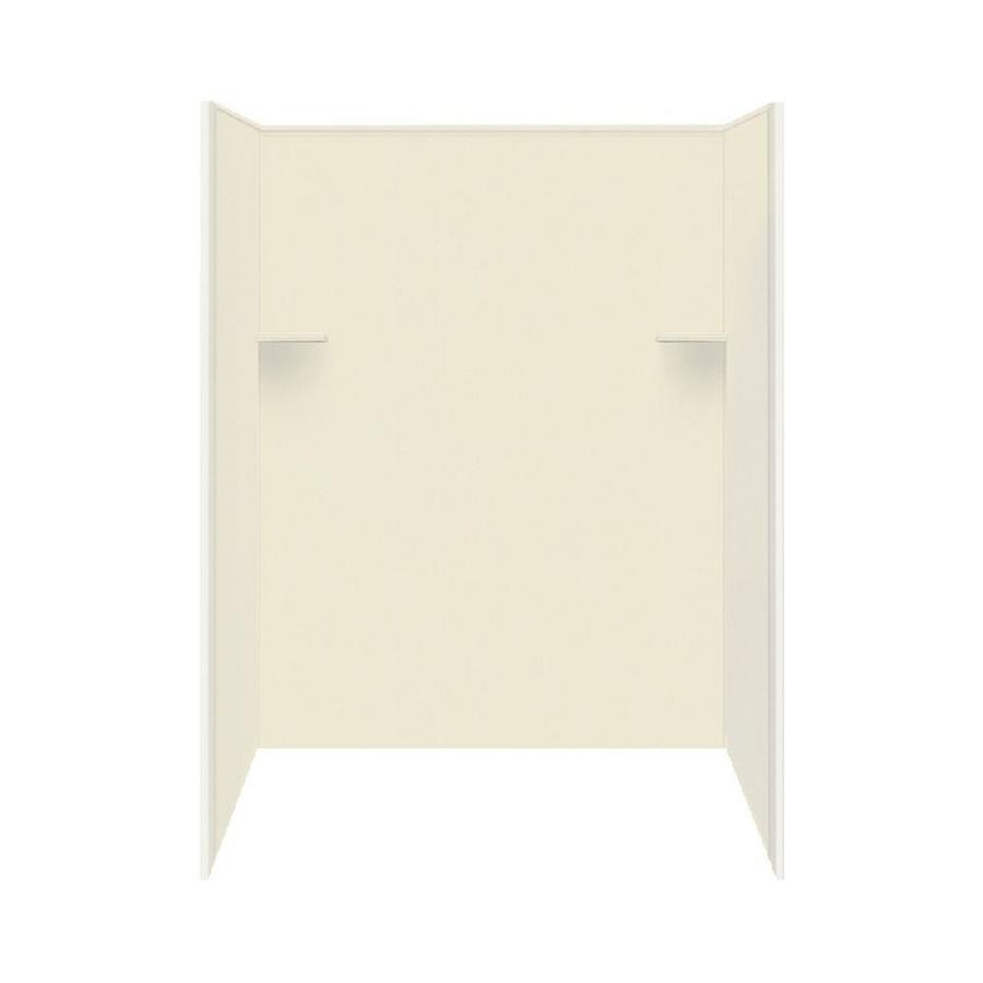 Style Selections Biscuit Shower Wall Surround Side and Back Wall Kit (Common: 36-in x 60-in; Actual: 72-in x 36-in x 60-in)
