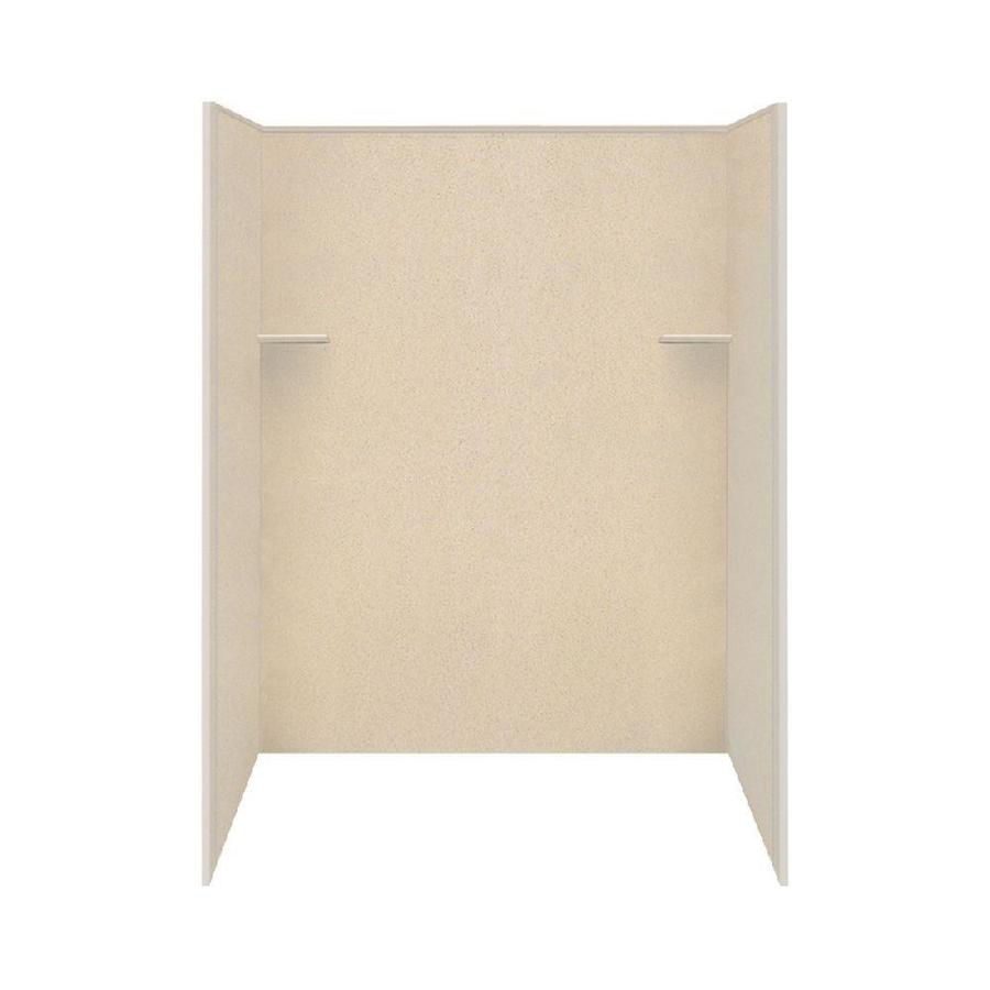 Style Selections Matrix Khaki Shower Wall Surround Side and Back Wall Kit (Common: 36-in x 60-in; Actual: 72-in x 36-in x 60-in)