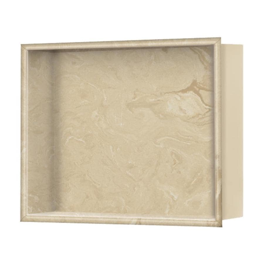 Style Selections Almond Sky Shower Wall Shelf