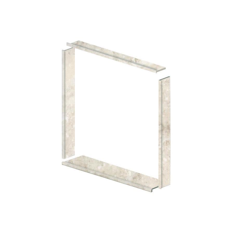 Style Selections Silver Mocha Shower Wall Window Trim Kit