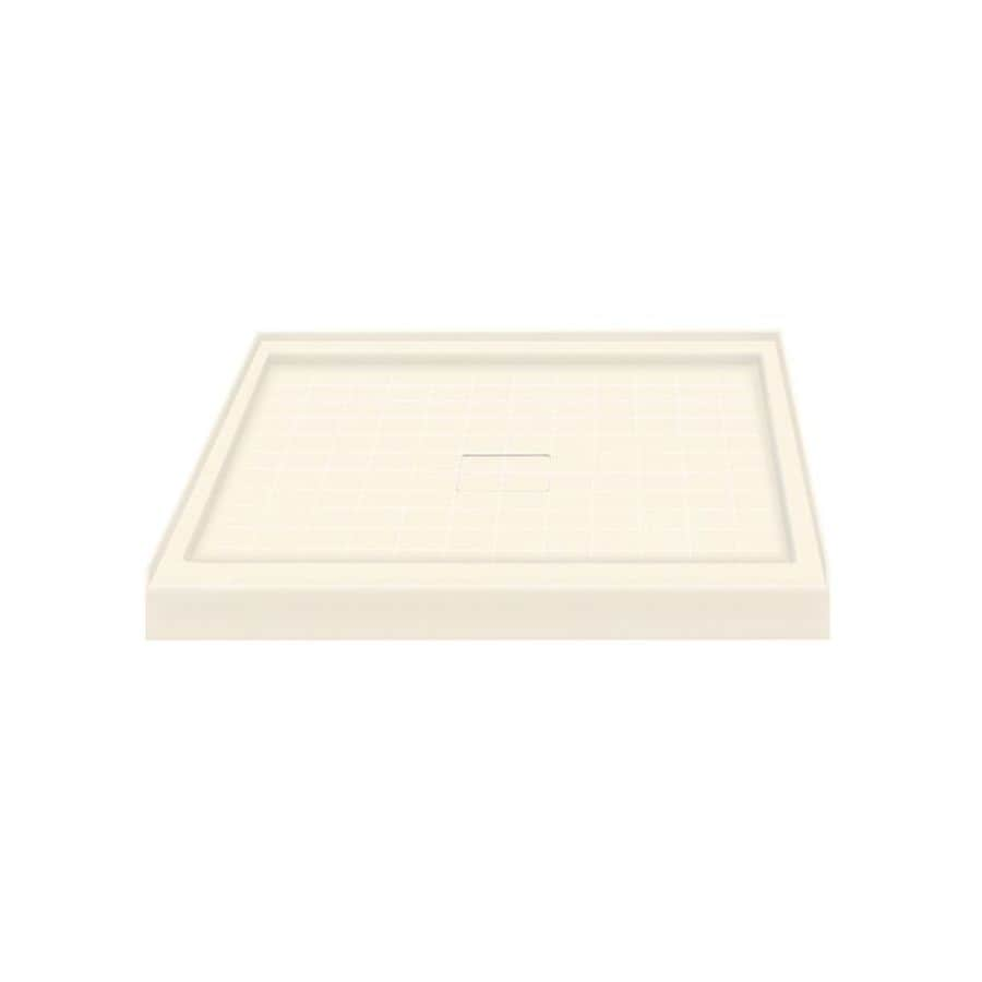 Transolid Cameo Solid Surface Shower Base (Common: 36-in W x 36-in L; Actual: 36-in W x 36-in L)