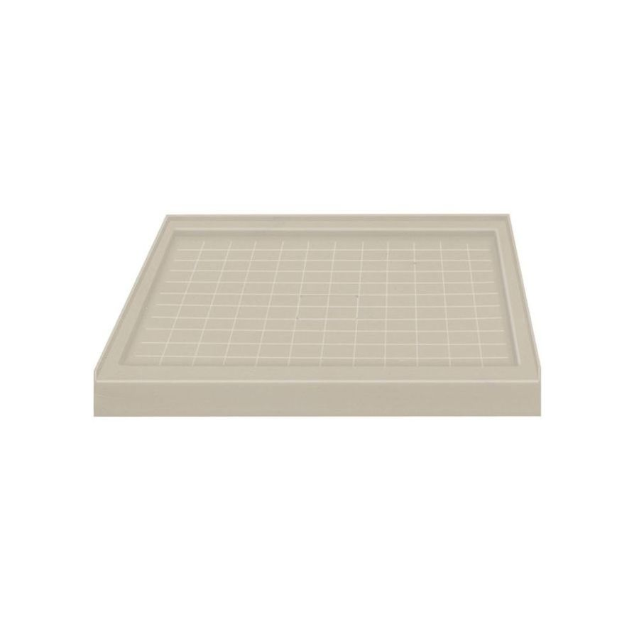 Transolid Sand Solid Surface Shower Base (Common: 36-in W x 36-in L; Actual: 36-in W x 36-in L)