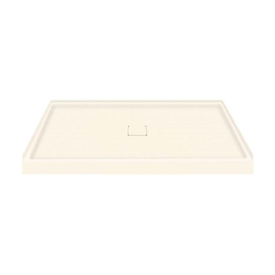Transolid Cameo Solid Surface Shower Base (Common: 60-in W x 36-in L; Actual: 60-in W x 36-in L)